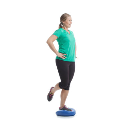 Øvelser med balansepute