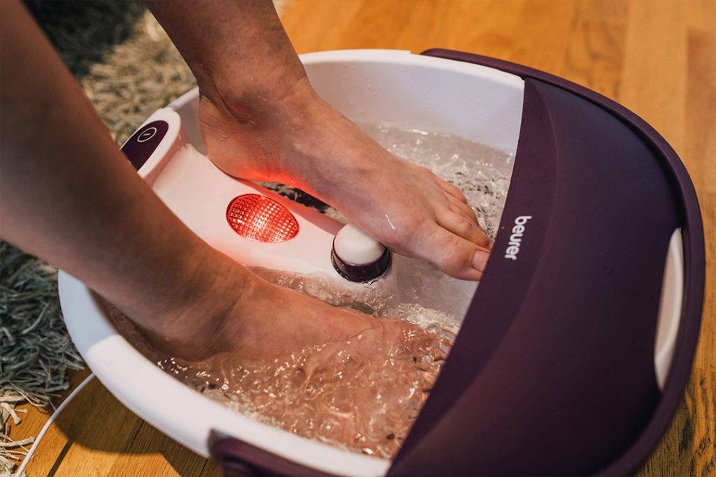beurer fb 21 fotbad i bruk